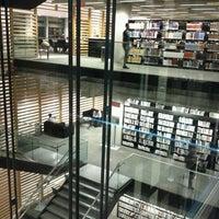 Photo taken at Bibliothèque et Archives nationales du Québec (Grande Bibliothèque) by Sarah0s on 9/2/2011