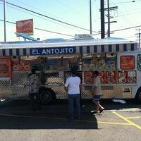 Photo taken at El Antojito by Ricky V. on 9/5/2011