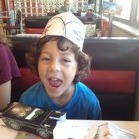 Photo taken at Steak 'n Shake by Karen V. on 3/3/2012