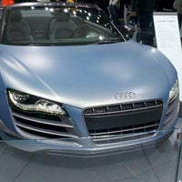 Photo taken at Audi Stand at Detroit Auto Show by Justin J. on 1/14/2012