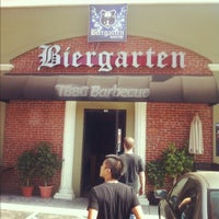 Photo taken at Biergarten by Robby R. on 5/24/2012