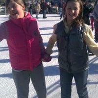 Photo taken at Brenton Skating Plaza by Angie R. on 12/24/2011