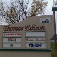 Photo taken at Thomas Edison Service Area by Marcus on 11/16/2011
