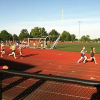 Photo taken at Holyoke High School by David B. on 5/18/2012
