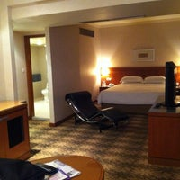 Photo taken at Concorde Hotel by Takahiro K. on 5/2/2012