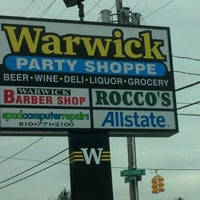 Photo taken at Warwick Party Store by Nick G. on 12/3/2011