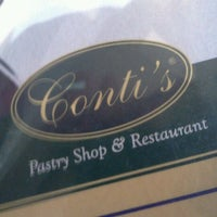 Photo taken at Conti's Bakeshop & Restaurant by Michael M. on 8/16/2011