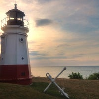 Photo taken at Vermilion Lighthouse by Andrew A. on 7/18/2012