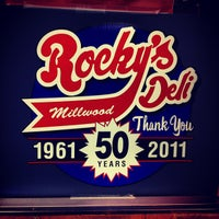 Photo taken at Rocky's Millwood Deli by Benjamin P. on 6/22/2012