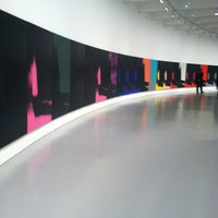Photo taken at Andy Warhol Shadows at the Hirshhorn by Amy D. on 12/20/2011
