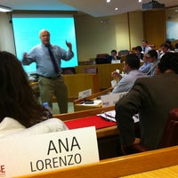 Photo taken at IESE Business School by Ana L. on 12/15/2011