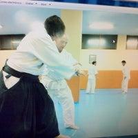 Photo taken at Shoshin Dojo Madrid by Jesus N. on 1/19/2012