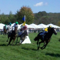 Photo taken at Virginia Gold Cup by Scott V. on 10/15/2011
