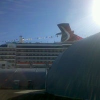 Photo taken at World Cruise Terminal by Erica M. on 11/13/2011