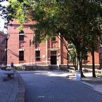 Photo taken at Universidade Presbiteriana Mackenzie by Ailton A. on 8/10/2012