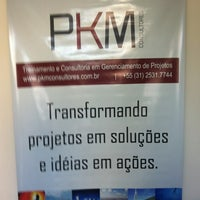 Photo taken at Pkm Consultores by Fatima B. on 2/9/2012