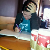 Photo taken at Starbucks by Charlie H. on 11/20/2011