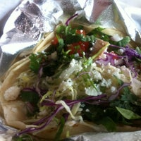 Photo taken at Yucatan Taco Stand by Christopher J. on 9/28/2011