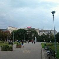 Photo taken at Moravské náměstí by Pedro G. on 9/12/2012