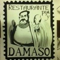 Photo taken at Restaurante Pia y Damaso by Ryan C. on 12/21/2011