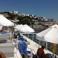 Photo taken at Doria Beach by ebrahim a. on 8/14/2012