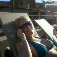 Photo taken at Coronado North Pool by Megan J. on 7/2/2011