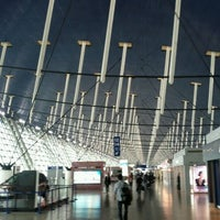 Photo taken at Shanghai Pudong International Airport (PVG) by Jon B. on 11/5/2011