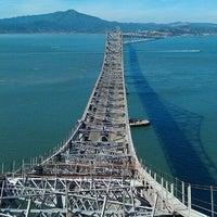 Photo taken at Richmond-San Rafael Bridge by D Thein W. on 10/12/2011
