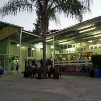 Photo taken at Colegio Alfa CEM Bilingue by Newton G. on 4/17/2012