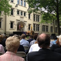 Photo taken at College of Wooster by Diane D. on 5/14/2012