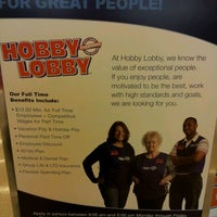 Photo taken at Hobby Lobby by Wayne S. on 2/16/2012
