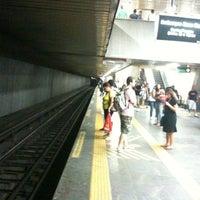 Photo taken at MetrôRio - Estação Central by Alfredo C. on 12/31/2010