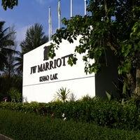 Photo taken at JW Marriott Khao Lak Resort & Spa by Tim A. on 3/22/2012