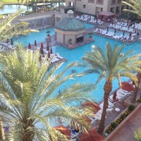 Photo taken at Renaissance Indian Wells Resort & Spa by Jayme R. on 6/24/2012