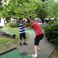 Photo taken at Randalls Island Golf Center by Benjamin S. on 7/7/2012