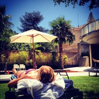Photo taken at Eurostars Anglí Hotel Barcelona by Pepijn B. on 8/8/2012