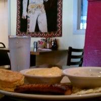 Photo taken at Big Bad Breakfast by Lisa B. on 4/20/2012