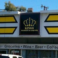 Photo taken at Kings Liquor & Junior Market by Alan Z. on 8/2/2012