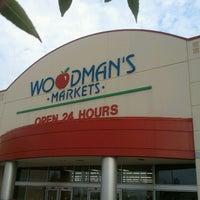 Photo taken at Woodman's Food Market by Rick S. on 7/22/2012