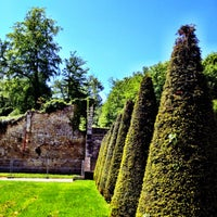 Photo taken at Domaine national de Marly-le-Roi by Andrea A. on 5/14/2012