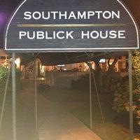 Photo taken at Southampton Publick House by Richard G. on 9/3/2012