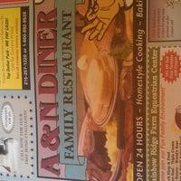 Photo taken at A&N Diner by Brandon J. on 2/29/2012