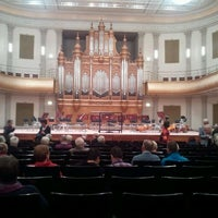 Photo taken at Philharmonie by Wilbert on 3/13/2012