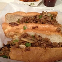 Photo taken at South Philly Cheese Steaks by Aaron A. on 9/5/2012