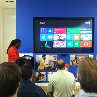 Photo taken at Microsoft Store by Dan on 7/17/2012