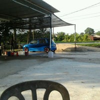 Photo taken at Azeez Car Wash by Syukri B. on 3/15/2012