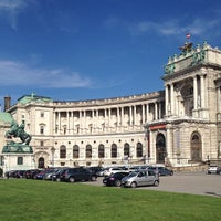 Photo taken at Hofburg by Denis on 8/2/2012