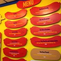 Photo taken at Hot Doug's by Matthew M. on 11/16/2012