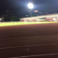 Photo taken at Thephasadin Stadium by Nitchakant P. on 8/17/2015