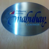 Photo taken at Philippine Airlines Mabuhay Lounge by Miguel G. on 11/3/2012
